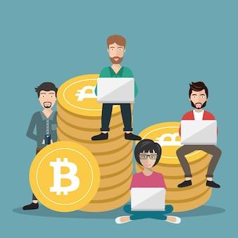 Bitcoin-concept