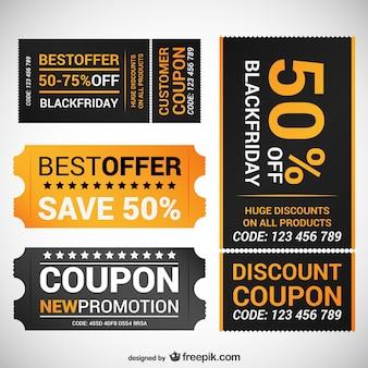 Black friday aanbieding coupons