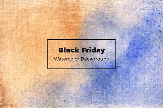 Black friday aquarel achtergrond