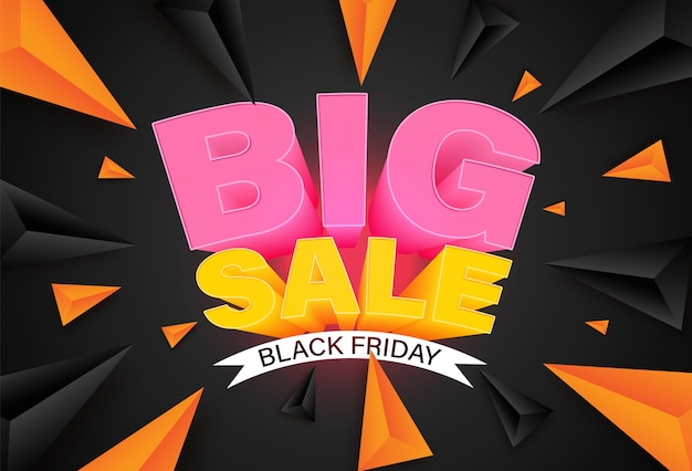 Black friday banner ontwerpsjabloon