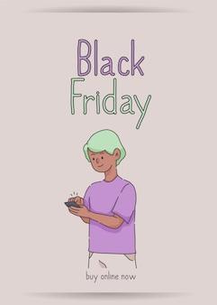 Black friday banner super sale korting nu online kopen