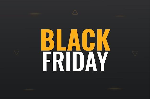 Black friday-bannerontwerp