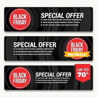 Black friday-bannersetpakket