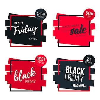Black Friday-bannerverzameling