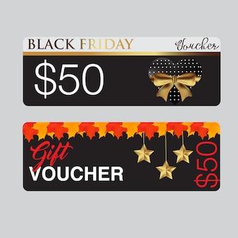 Black friday-bonkaartmalplaatje