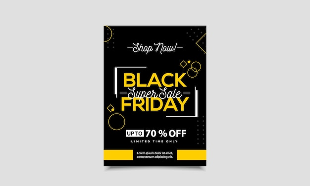 Black friday-flyer