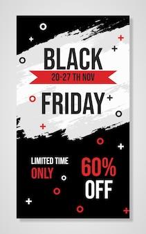 Black friday-illustratieachtergrond
