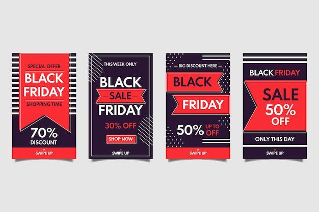 Black friday instagram-verhalencollectie