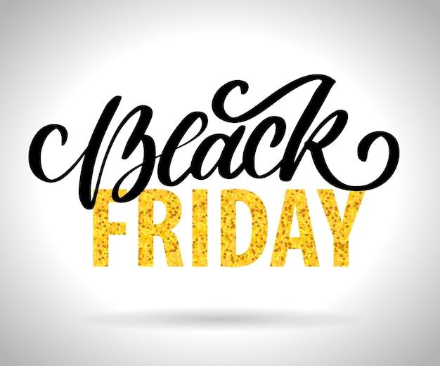 Black friday kalligrafische ontwerpen retro stijlelementen vintage ornamenten verkoop