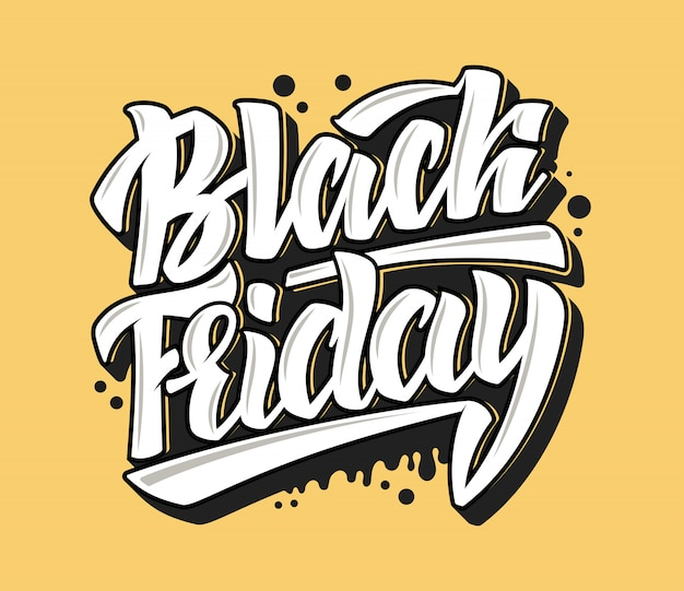 Black friday-letters