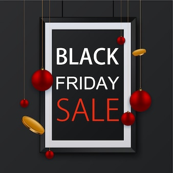 Black friday-poster