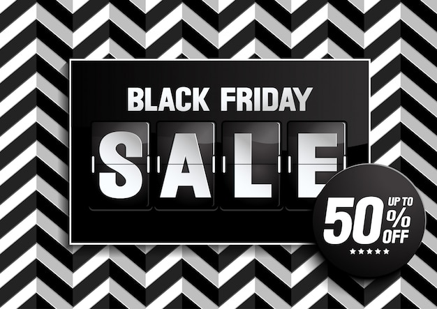Black friday sale zwarte kleur