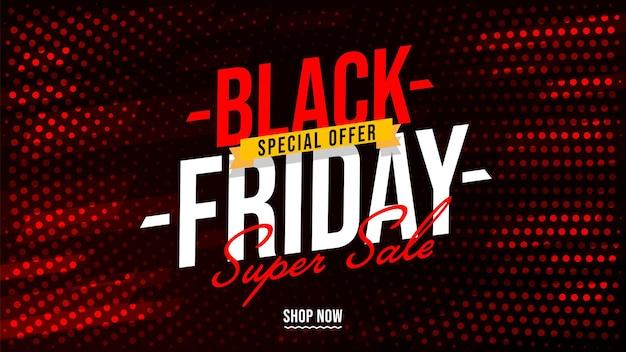 Black friday speciale aanbieding winkel promotie poster