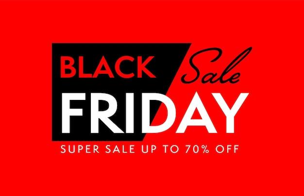 Black friday-superverkoop tot 70 procent korting
