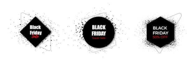 Black friday-verkoop black label-collectie