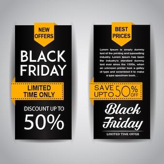 Black friday verkoop folders
