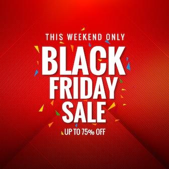 Black friday-verkoop het winkelen kaartachtergrond