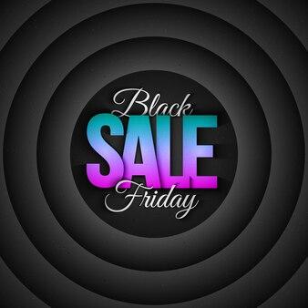 Black friday-verkoop retro