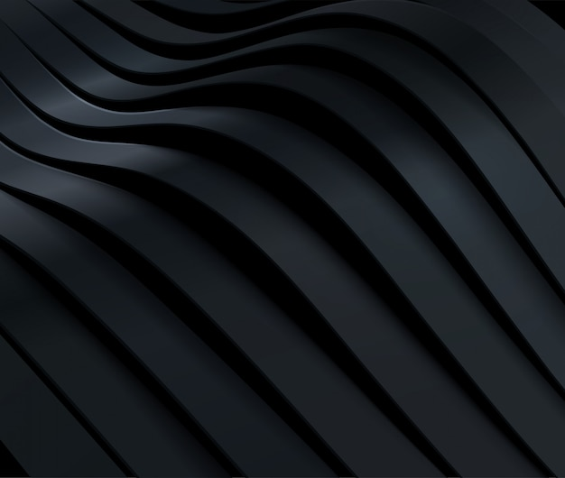 Black friday-verkoopaffiche. commerciële korting evenement banner. 3d-dynamische gesneden zwarte oppervlak. abstracte achtergrond.