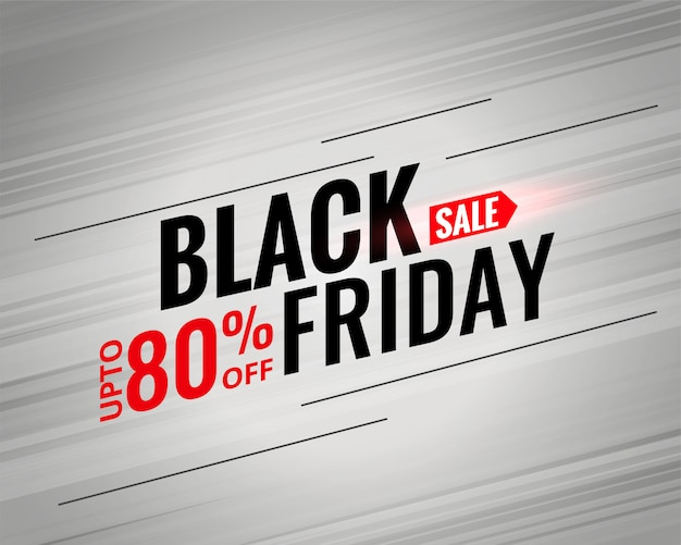 Black friday-verkoopafficheontwerp