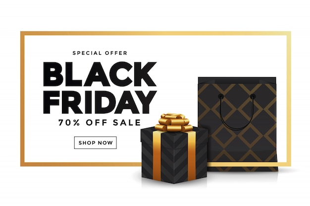 Black friday-verkoopbanner 3