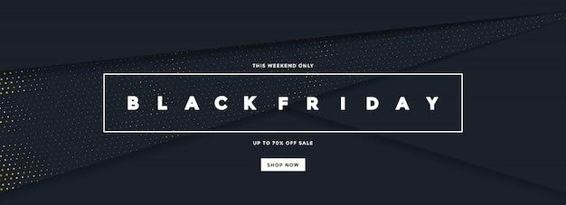Black friday-verkoopbanner