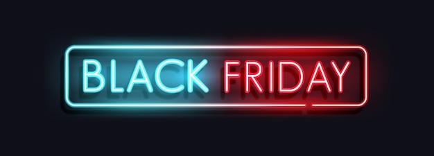 Black friday-verkoopbannerconcept