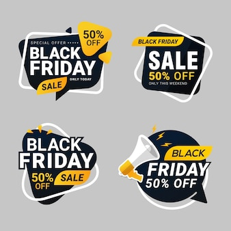 Black friday-verkoopbannerkorting
