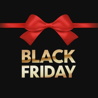 Black friday-verkoopflyer