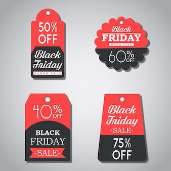 Black friday-verkoopmarkeringeninzameling