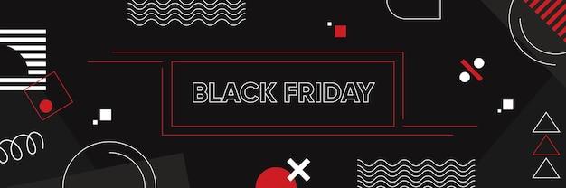 Black friday vierkante banner instagram post social media feed collectie