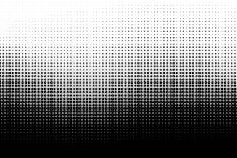 Black Wave halftone achtergrond