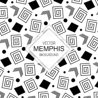 Black & white memphis backgrounds