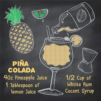 Blackboard-cocktailrecept