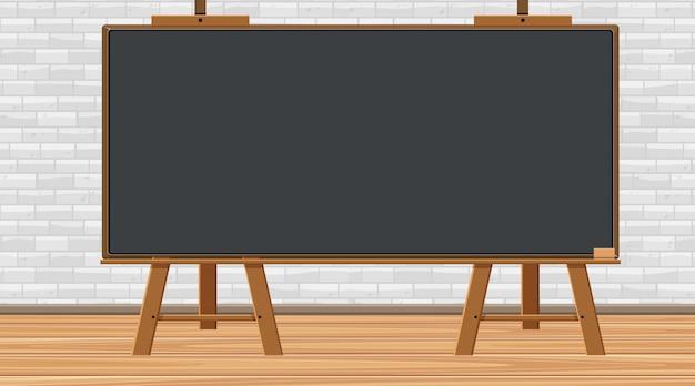 Blackboard op de muur