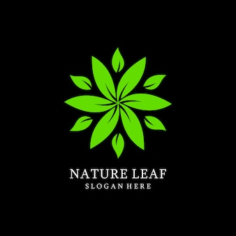 Blad logo ontwerpen