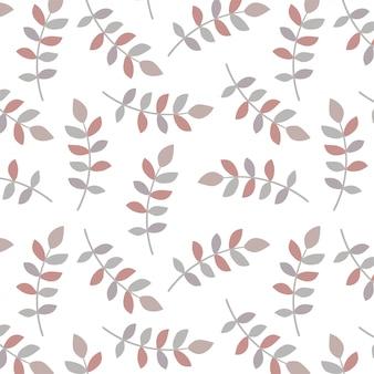 Blad patroon ontwerp