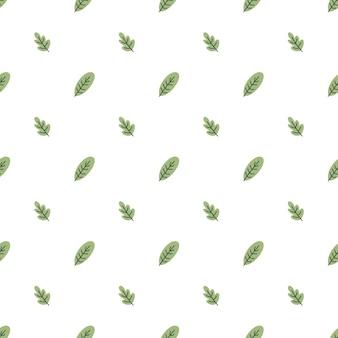 Bladeren naadloos patroon