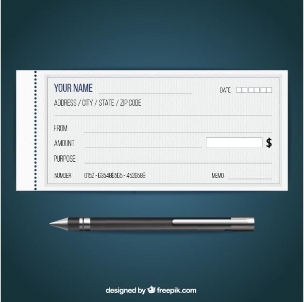 Blanco cheque