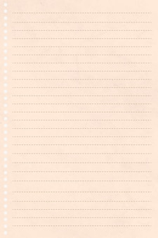 Blanco crème briefpapier ontwerp