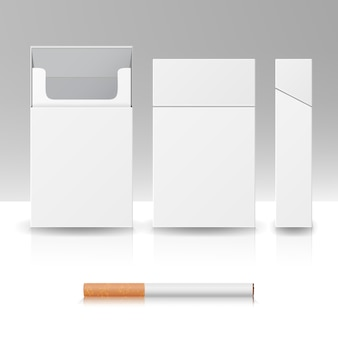 Blanco pakket pakket sigaretten