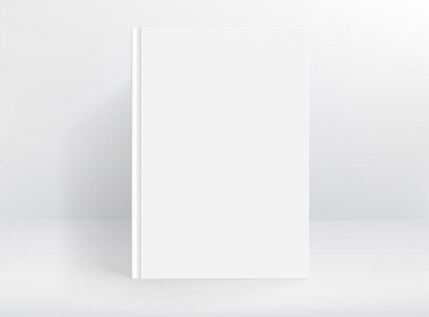 Blanco wit hardcover boek