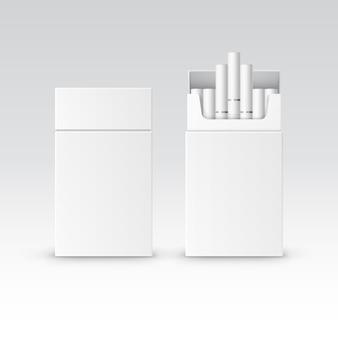 Blank pack pakket doos met sigaretten