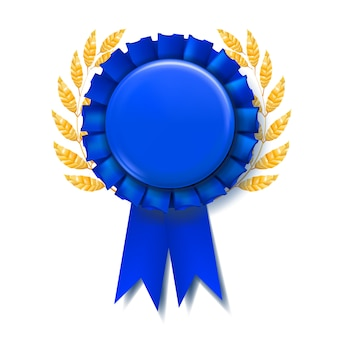 Blauw awardlint