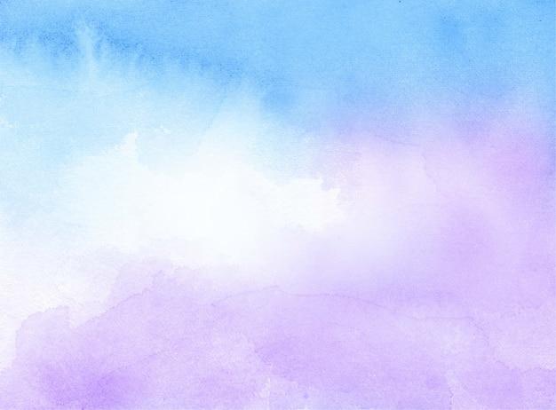 Blauw en violet aquarel abstracte textuur achtergrond