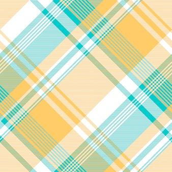 Blauw geel licht het tafelkleed naadloos patroon van de kleurencontrole