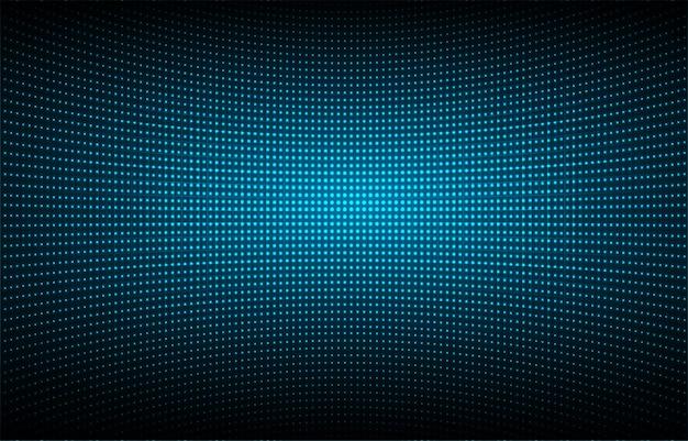 Blauw geleid bioscoopscherm