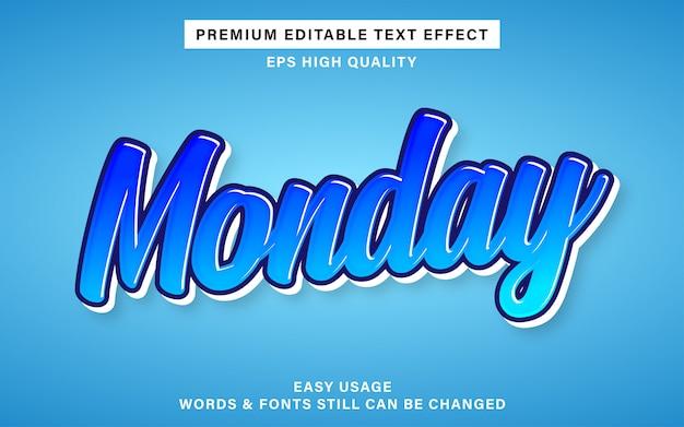 Blauw graffiti teksteffect