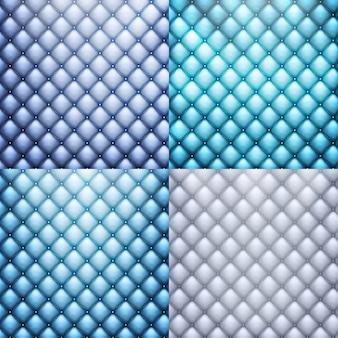 Blauw leer, textuurreeks.