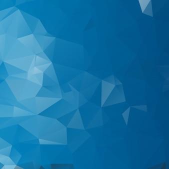 Blauw licht veelhoekige illustratie, die uit driehoeken bestaat. geometrische achtergrond in origamistijl met gradiënt. driehoekig ontwerp voor uw bedrijf.